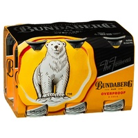 Bundaberg Rum & Cola Overproof 6x375ml