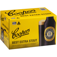 Coopers Stout 24x375ml