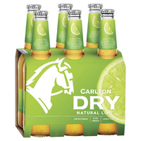 Carlton Dry Lime 6x355ml